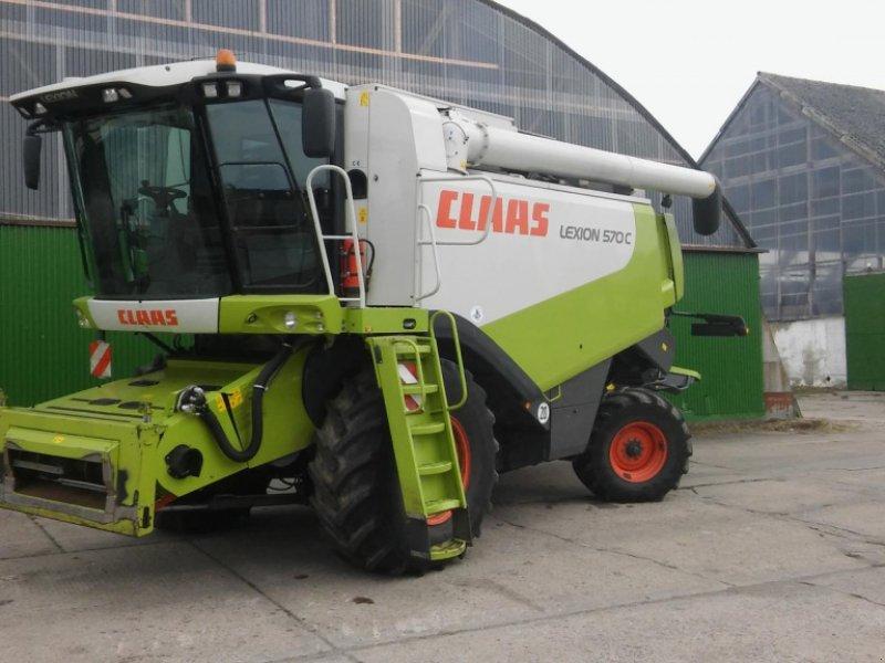 Mähdrescher del tipo CLAAS Lexion 570 C Top Zustand, Gebrauchtmaschine en Liebenwalde (Imagen 1)