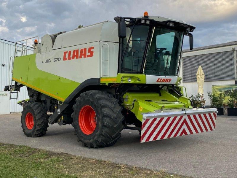 Mähdrescher des Typs CLAAS LEXION 570 inkl. V750, Gebrauchtmaschine in Bad Abbach (Bild 1)