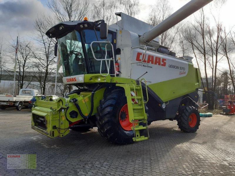 Mähdrescher del tipo CLAAS LEXION 570 MONTANA, Gebrauchtmaschine en Vohburg (Imagen 1)