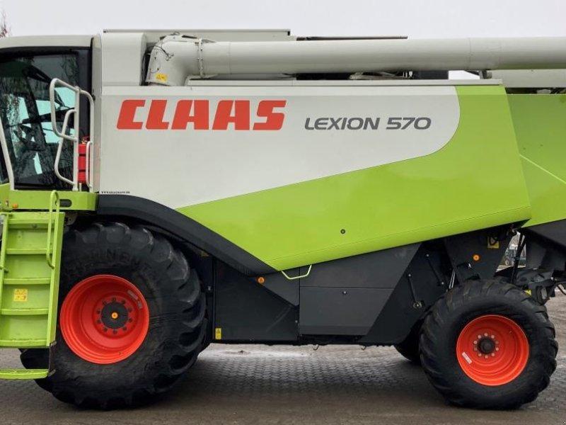 Mähdrescher des Typs CLAAS Lexion 570, Gebrauchtmaschine in Middelfart (Bild 1)
