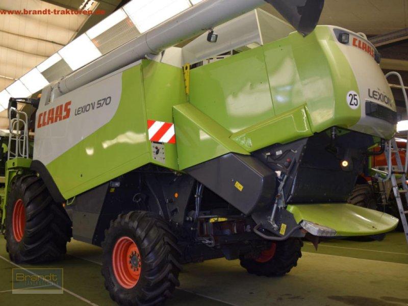 Mähdrescher des Typs CLAAS Lexion 570, Gebrauchtmaschine in Bremen (Bild 3)