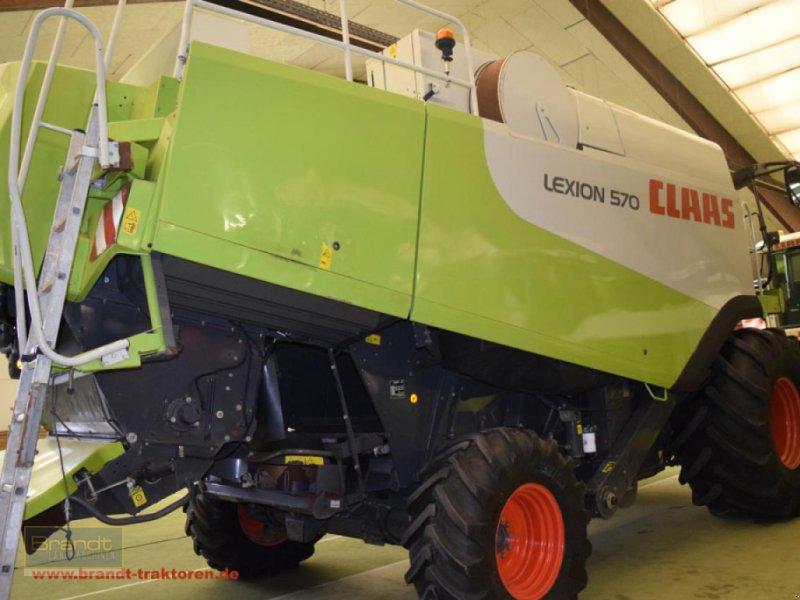 Mähdrescher des Typs CLAAS Lexion 570, Gebrauchtmaschine in Bremen (Bild 2)