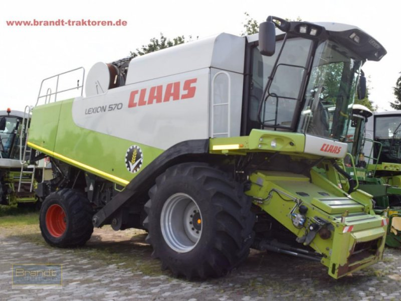 Mähdrescher typu CLAAS Lexion 570, Gebrauchtmaschine v Bremen (Obrázok 1)