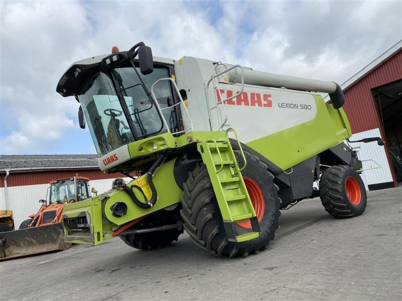 Mähdrescher типа CLAAS LEXION 580 KUN 1050 TIMER! FUGT OG UDBYTTE MÅLER!, Gebrauchtmaschine в Aalestrup (Фотография 1)
