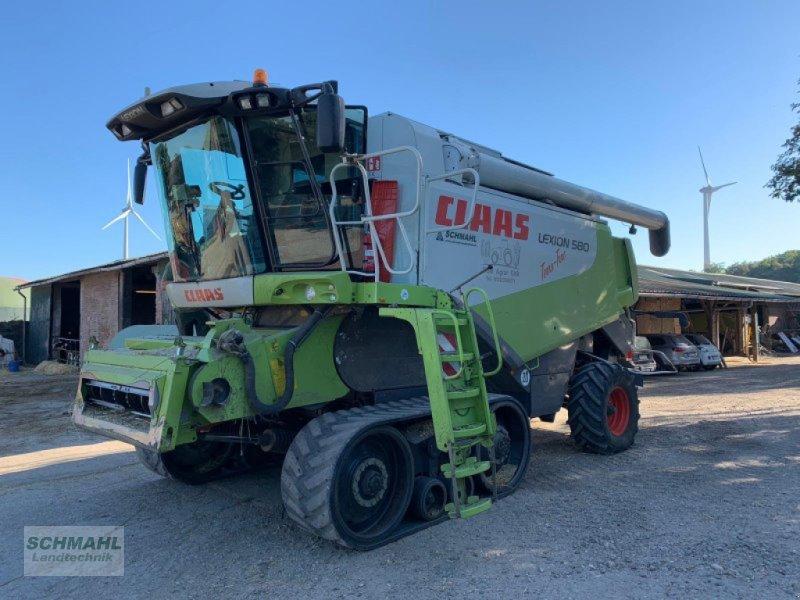 Mähdrescher des Typs CLAAS Lexion 580 Terra Trac, Gebrauchtmaschine in Oldenburg in Holstein (Bild 1)