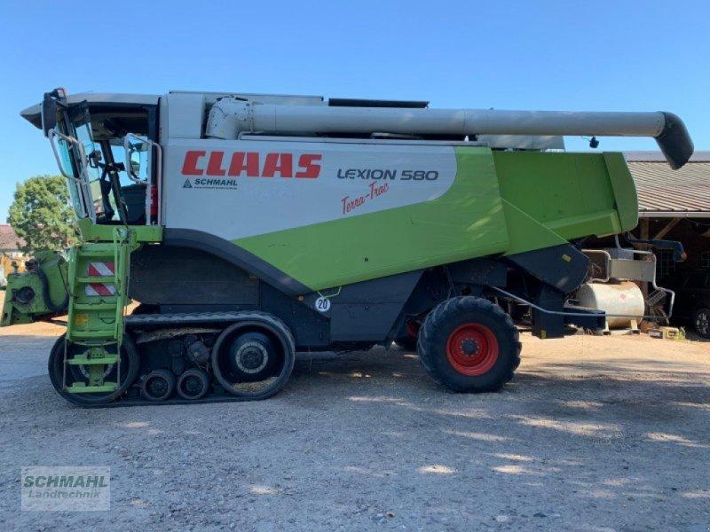 Mähdrescher des Typs CLAAS Lexion 580 Terra Trac, Gebrauchtmaschine in Oldenburg in Holstein (Bild 4)