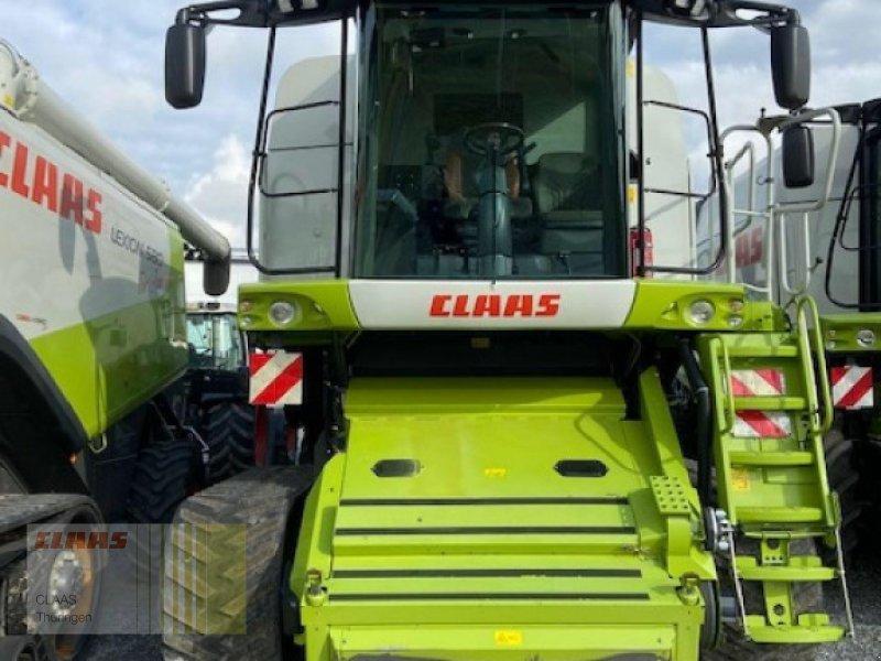 Mähdrescher des Typs CLAAS Lexion 580 Terra-Trac, Gebrauchtmaschine in Vachdorf (Bild 1)