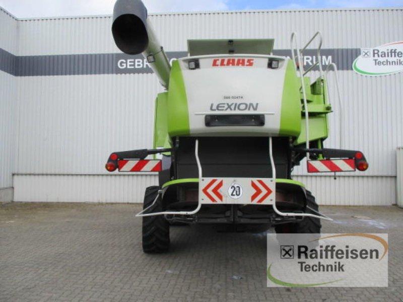 Mähdrescher des Typs CLAAS Lexion 580 TerraTrac, Gebrauchtmaschine in Holle (Bild 4)