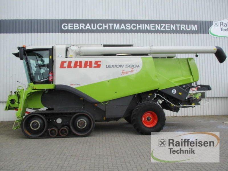 Mähdrescher des Typs CLAAS Lexion 580 TerraTrac, Gebrauchtmaschine in Holle (Bild 1)