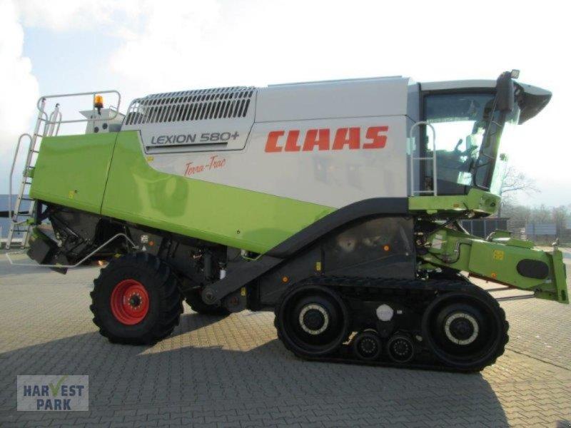 Mähdrescher typu CLAAS Lexion 580 TT, Gebrauchtmaschine v Emsbüren (Obrázok 6)