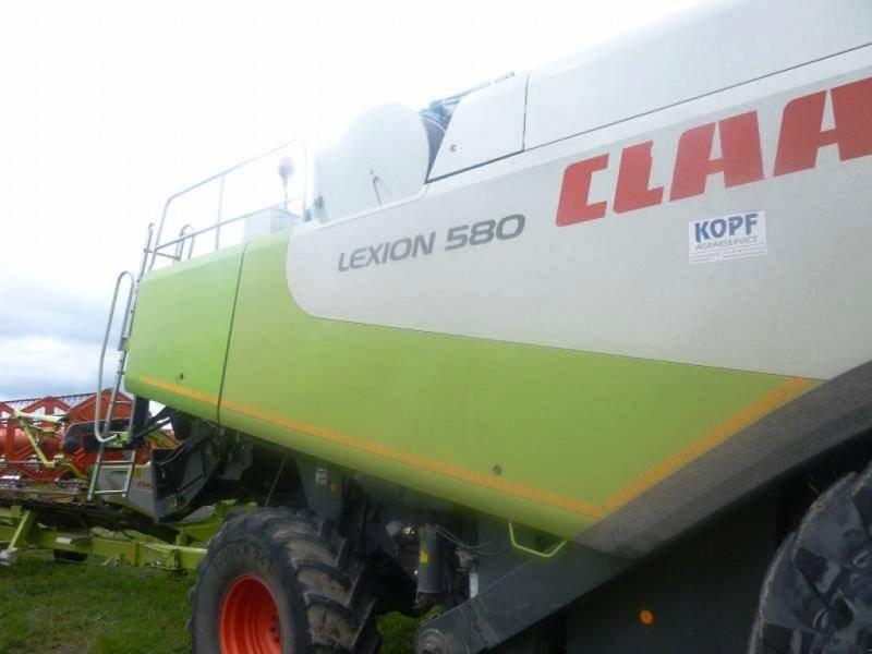 Mähdrescher des Typs CLAAS Lexion 580, Gebrauchtmaschine in Schutterzell (Bild 1)