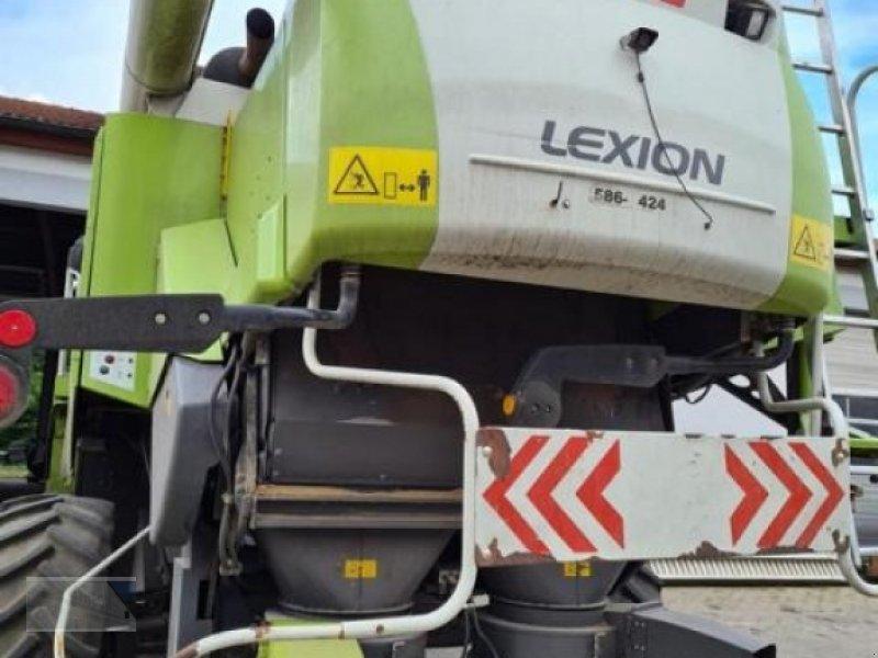 Mähdrescher des Typs CLAAS Lexion 580, Gebrauchtmaschine in Kleinlangheim (Bild 4)