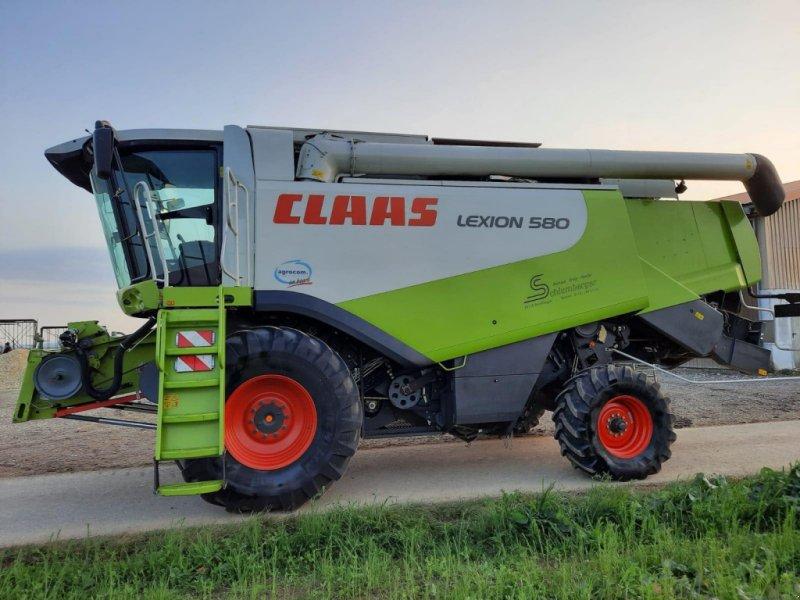 Mähdrescher des Typs CLAAS Lexion 580, Gebrauchtmaschine in Asselfingen (Bild 1)