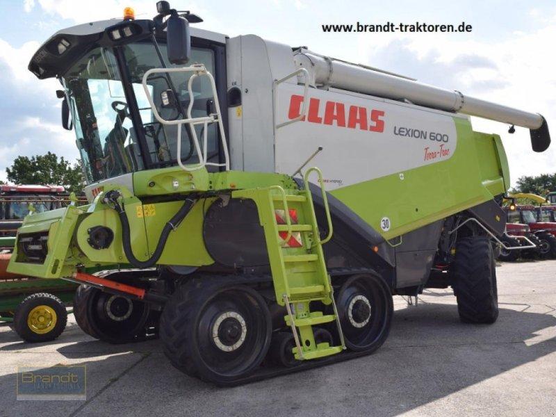Mähdrescher des Typs CLAAS Lexion 600 Terra-Trac, Gebrauchtmaschine in Bremen (Bild 1)