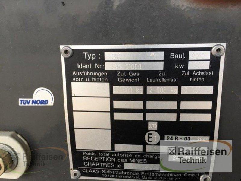 Mähdrescher des Typs CLAAS Lexion 600 TerraTrac, Gebrauchtmaschine in Ebeleben (Bild 2)