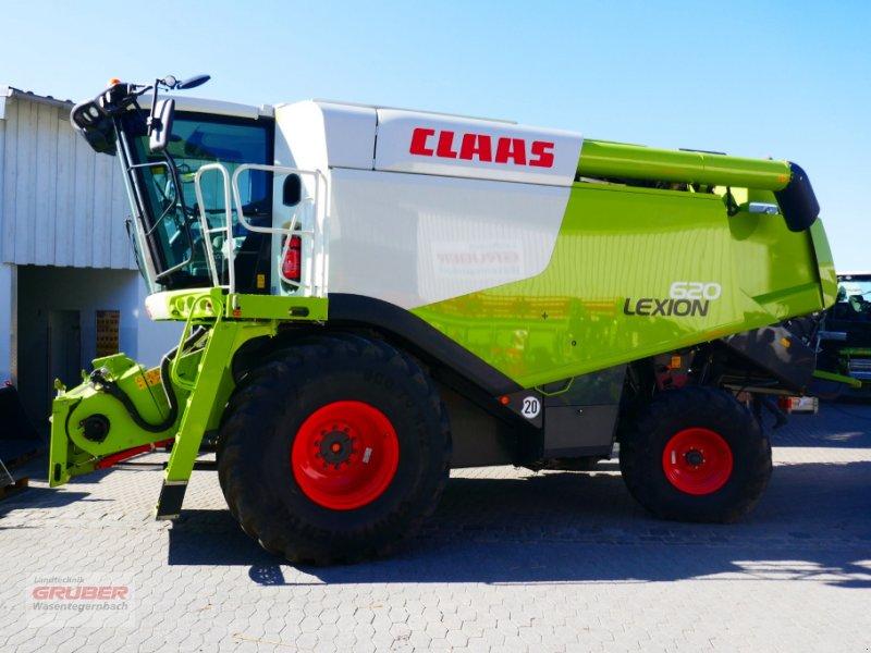 Mähdrescher des Typs CLAAS LEXION 620 + Schneidwerk V660, Gebrauchtmaschine in Dorfen (Bild 1)