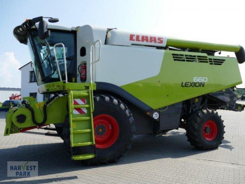Mähdrescher des Typs CLAAS Lexion 660, Gebrauchtmaschine in Emsbüren (Bild 1)