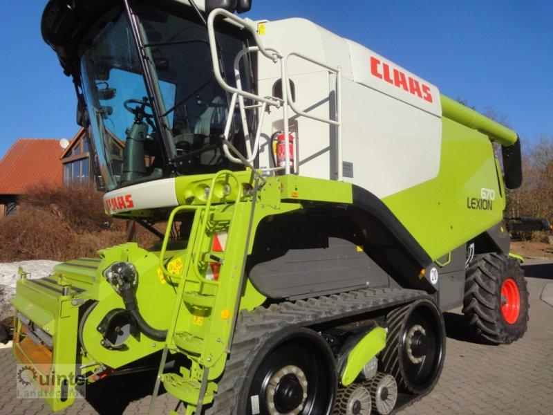 Mähdrescher des Typs CLAAS Lexion 670 TerraTrac, Gebrauchtmaschine in Lichtenau-Kleinenberg (Bild 1)