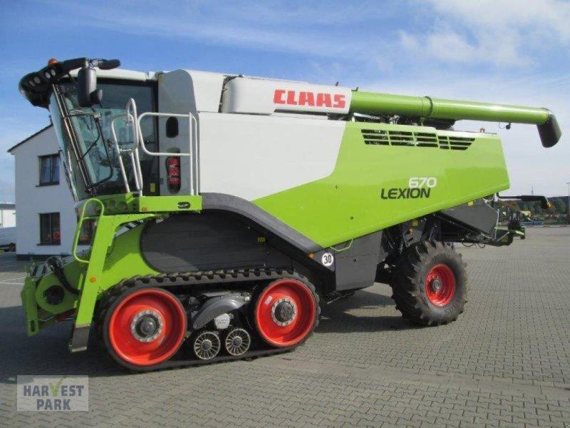 Mähdrescher des Typs CLAAS Lexion 670 TT, Gebrauchtmaschine in Emsbüren (Bild 1)