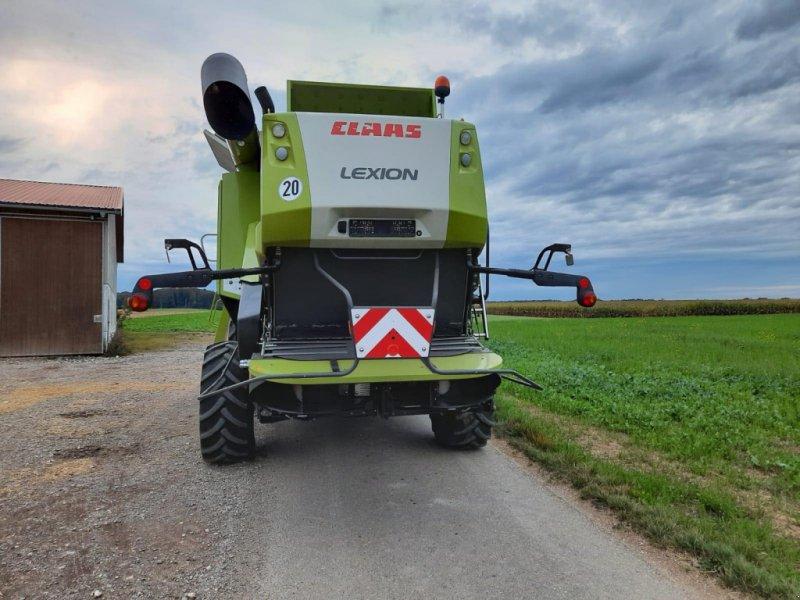 Mähdrescher des Typs CLAAS Lexion 670, Gebrauchtmaschine in Asselfingen (Bild 14)