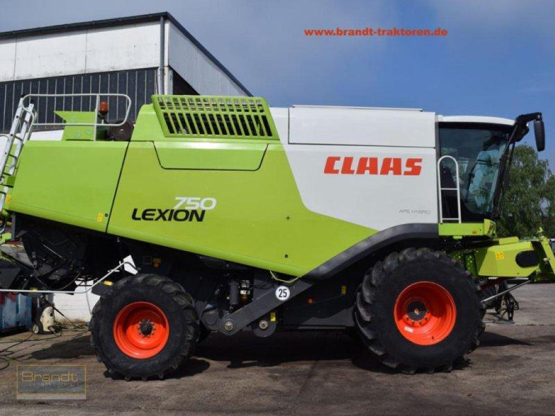 Mähdrescher des Typs CLAAS Lexion 750 APS, Gebrauchtmaschine in Bremen (Bild 1)
