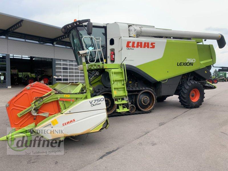 Mähdrescher des Typs CLAAS Lexion 750 Terra Trac, Gebrauchtmaschine in Hohentengen (Bild 1)