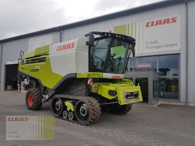 Mähdrescher des Typs CLAAS Lexion 750 TerraTrac, Gebrauchtmaschine in Schwabhausen (Bild 1)