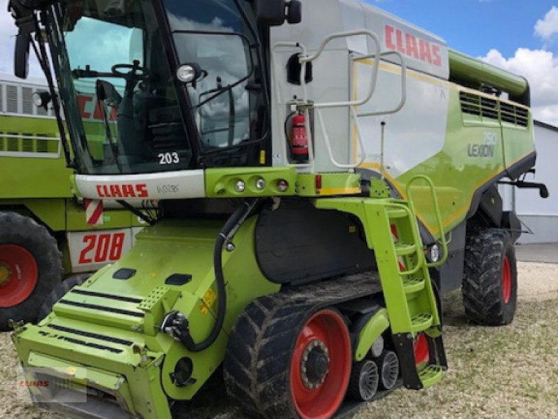 Mähdrescher des Typs CLAAS Lexion 750 TT Sonderpreis, Gebrauchtmaschine in Langenau (Bild 1)