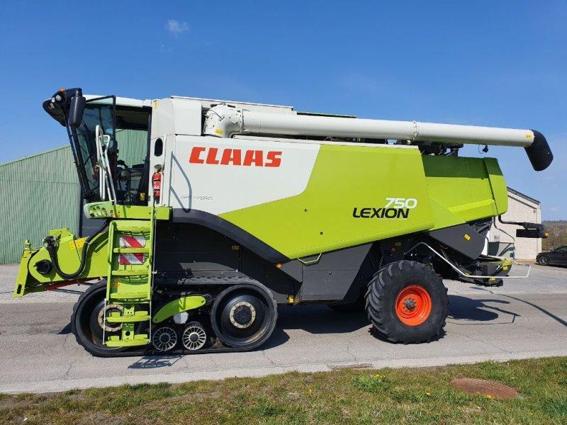 Mähdrescher des Typs CLAAS Lexion 750 TT, Gebrauchtmaschine in Baillonville (Bild 1)