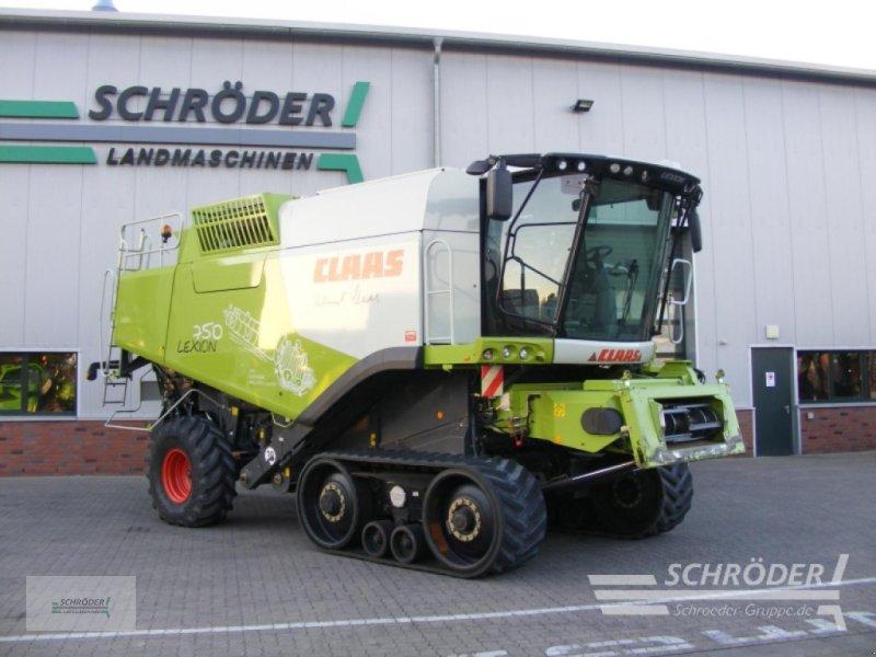 Mähdrescher des Typs CLAAS LEXION 750 TT, Gebrauchtmaschine in Völkersen (Bild 1)