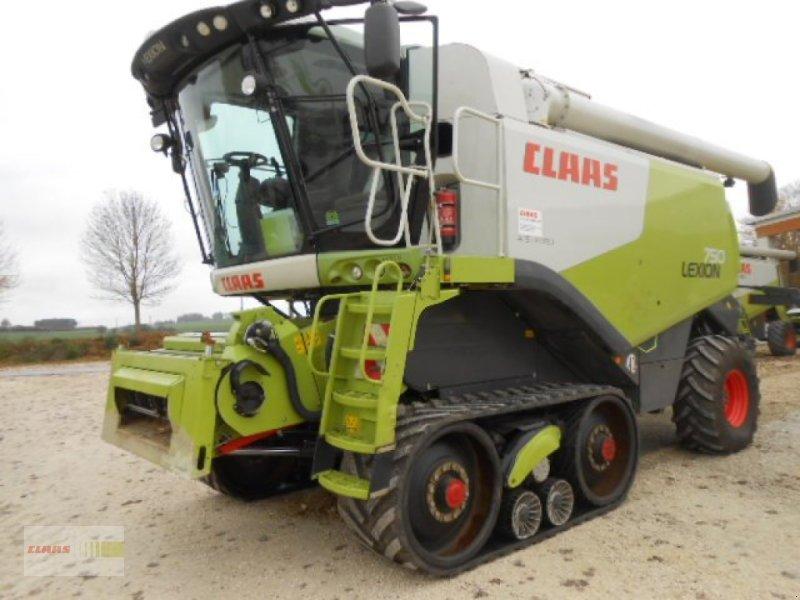 Mähdrescher des Typs CLAAS Lexion 750 TT, Gebrauchtmaschine in Langenau (Bild 1)