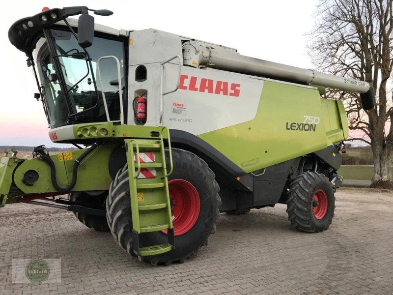 Mähdrescher a típus CLAAS Lexion 750, Gebrauchtmaschine ekkor: Nellingen (Kép 1)