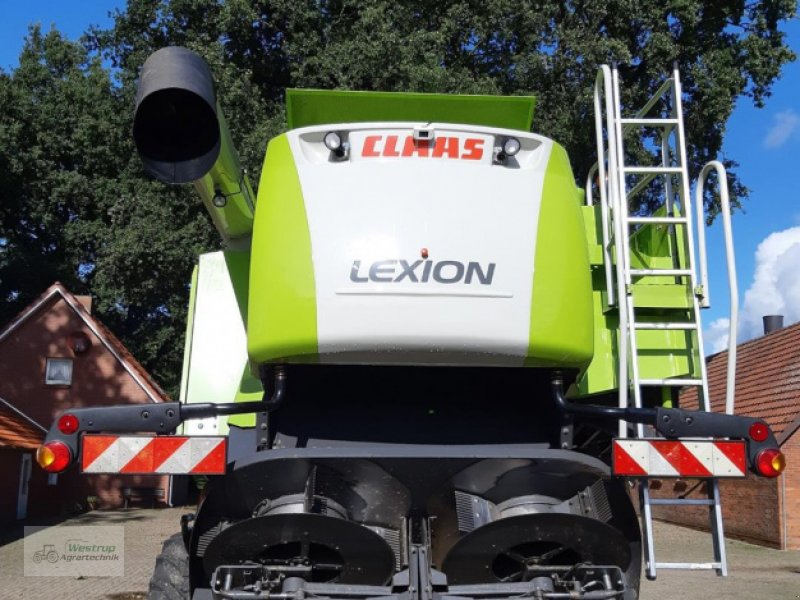 Mähdrescher des Typs CLAAS Lexion 750, Gebrauchtmaschine in Warendorf (Bild 4)