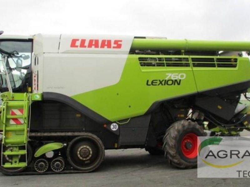 Mähdrescher des Typs CLAAS LEXION 760 TERRA TRAC, Gebrauchtmaschine in Warburg (Bild 1)