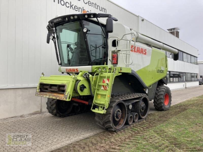 Mähdrescher a típus CLAAS LEXION 760 TERRA TRAC, Gebrauchtmaschine ekkor: Hockenheim (Kép 1)