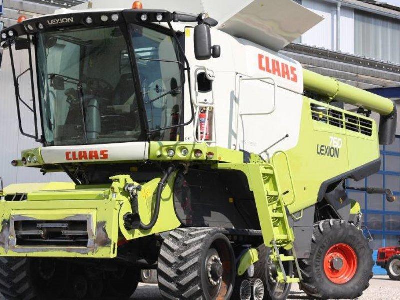 Mähdrescher des Typs CLAAS Lexion 760 TT - 40 km/H (Leinen), Gebrauchtmaschine in Schutterzell (Bild 1)