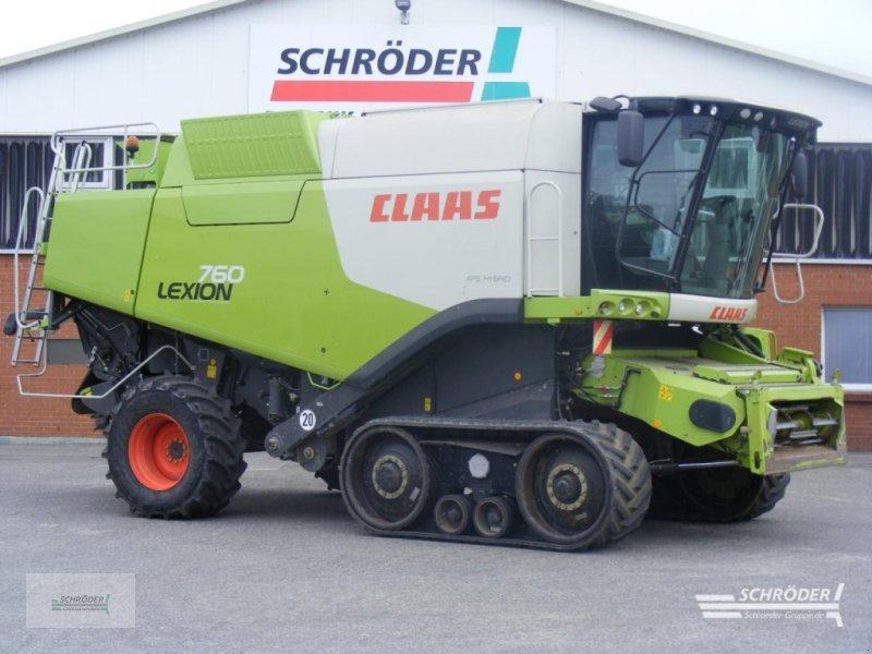 Mähdrescher des Typs CLAAS LEXION 760 TT A, Gebrauchtmaschine in Penzlin (Bild 1)