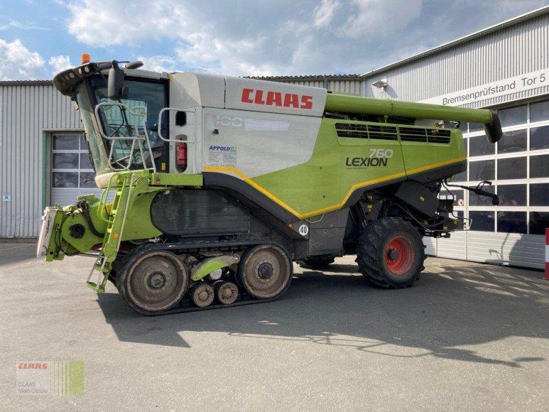 Mähdrescher des Typs CLAAS Lexion 760 TT Allrad, Gebrauchtmaschine in Heilsbronn (Bild 1)