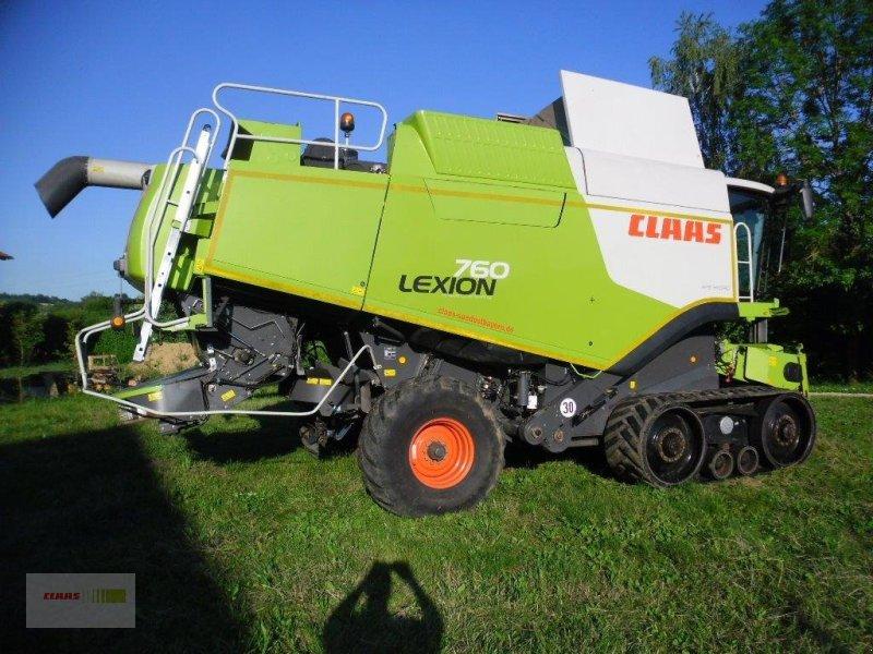 Mähdrescher des Typs CLAAS Lexion 760 TT, Gebrauchtmaschine in Mengkofen (Bild 7)