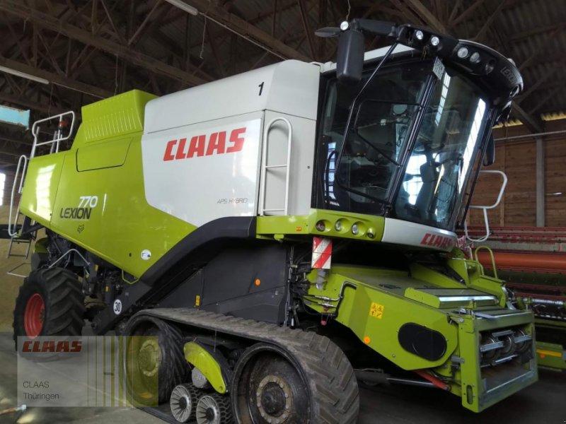 CLAAS Lexion 770 TerraTrac Combine harvester, 99869 Schwabhausen - technikboerse.com