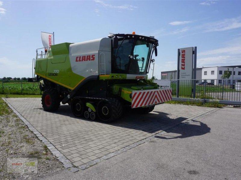 Mähdrescher des Typs CLAAS LEXION 770 TT UND V 900, Gebrauchtmaschine in Töging a. Inn (Bild 1)