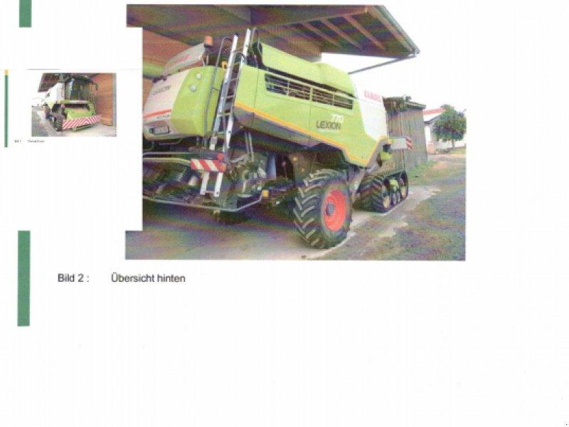 Mähdrescher des Typs CLAAS Lexion 770 TT, Gebrauchtmaschine in Hofheim (Bild 2)