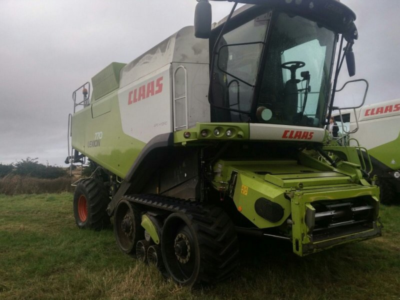 Mähdrescher of the type CLAAS Lexion 770, Gebrauchtmaschine in DN20 8NR  Brigg (Picture 1)