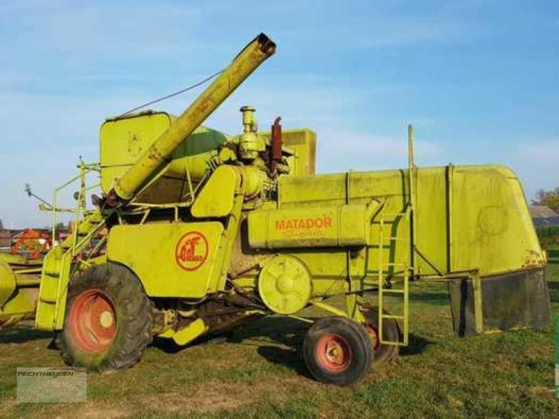 Mähdrescher des Typs CLAAS Matador Gigant, Gebrauchtmaschine in Wegberg (Bild 1)