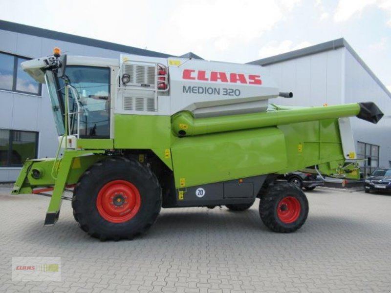 Mähdrescher des Typs CLAAS MEDION 320, Gebrauchtmaschine in Schwülper (Bild 2)