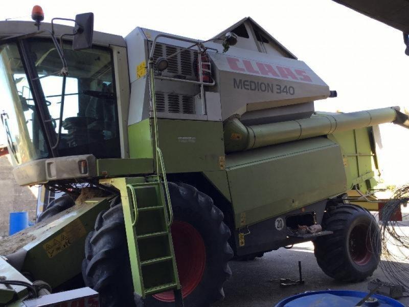 Mähdrescher типа CLAAS MEDION 340, Gebrauchtmaschine в BERGERES SOUS MONTMIRAIL (Фотография 1)