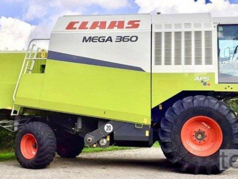 Mähdrescher des Typs CLAAS Mega 360, Gebrauchtmaschine in Östringen (Bild 1)