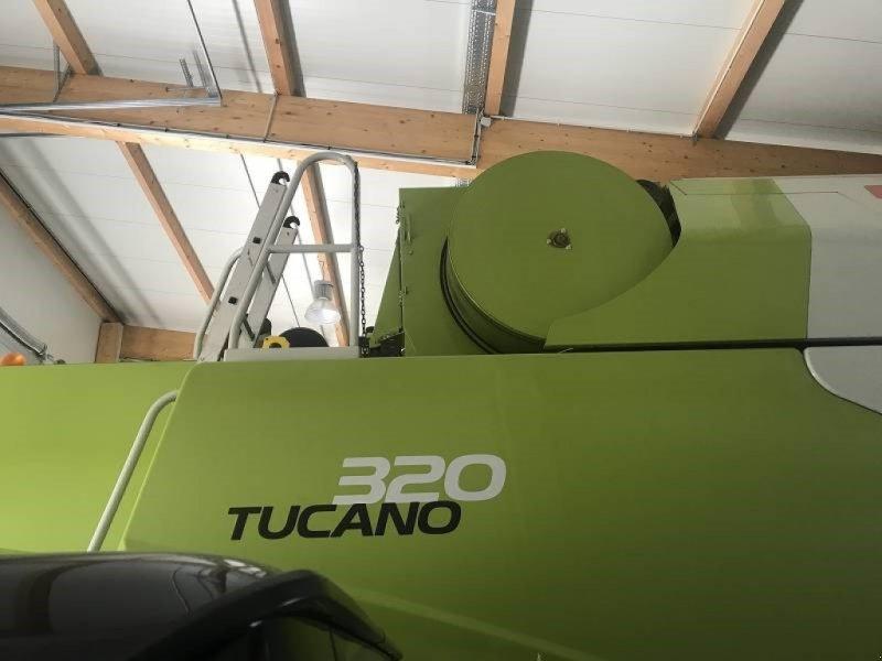 Mähdrescher des Typs CLAAS Tucano 320, Gebrauchtmaschine in Schutterzell (Bild 1)