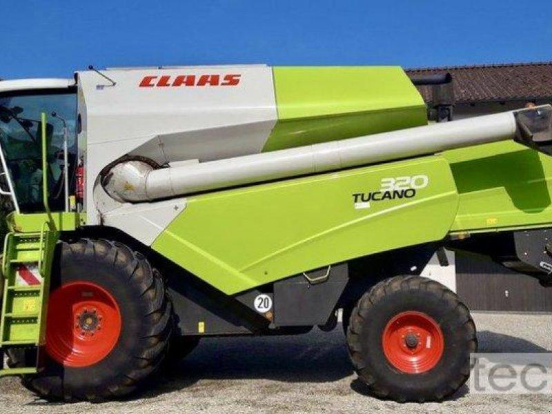 Mähdrescher des Typs CLAAS Tucano 320, Gebrauchtmaschine in Östringen (Bild 1)