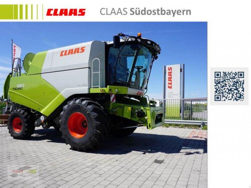 Mähdrescher des Typs CLAAS TUCANO 560 BUSINESS, Neumaschine in Töging am Inn (Bild 1)